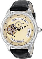 Ingersoll Men's IN5201CH West Point Tourbillon Analog Display Mechanical Hand Wind Black Watch