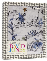 David Jones Under The Sea 3 Piece Cot Sheet Set