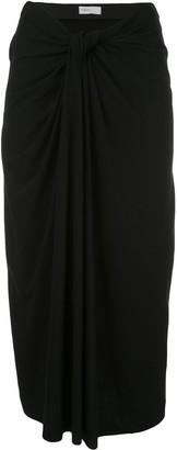 Rosetta Getty Twist Front Skirt