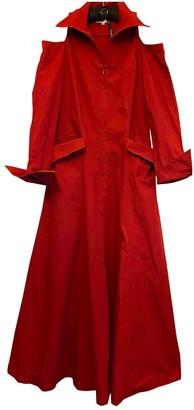 Emmanuelle Khanh Red Cotton Dress for Women