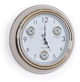 The Well Appointed House Aluminum Concierge Wall Clock