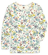 Tea Collection Toddler Girl's Heather Purity Tee