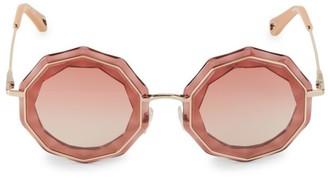 Chloé Caite 52MM Octagonal Sunglasses