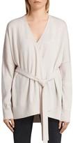 AllSaints Inaya Merino Wool Wrap Cardigan
