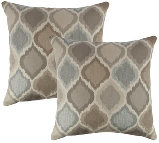 Austin Horn Classics Sunbrella Empire Dove 18-inch Outdoor Pillow