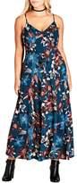 City Chic Fall Lily Maxi Dress