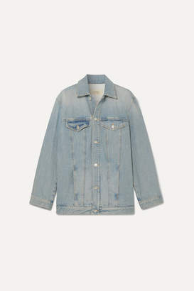 Givenchy Embroidered Denim Jacket - Blue