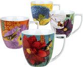 JCPenney Waechtersbach Impressions Set of 4 Assorted Mugs