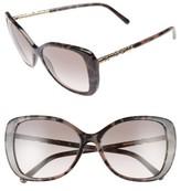 Burberry Women's 57Mm Butterfly Sunglasses - Spotty Tortoise