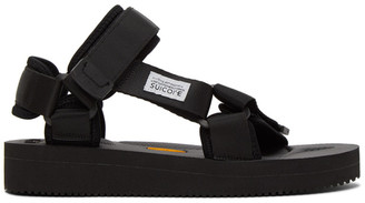 Suicoke Black DEPA V2 Sandals