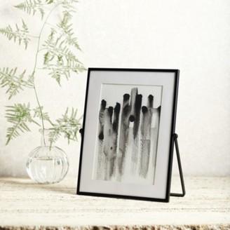 "The White Company Fine Black Easel Frame 5x7"", Black, One Size"