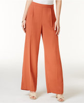 Bar III Wide-Leg Trousers, Only at Macy's
