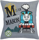 Thomas & Friends Gray Personalized Throw Pillow