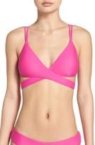 Women's Bca Move Along Wrap Bikini Top