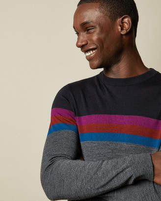 Ted Baker COWES Colour block sweater