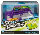 Hot Wheels Speed Chargers Retroactive Light Racer Car and Charger