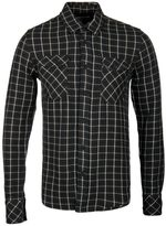 Nudie Jeans Gunnar Brown & White Rope Twill Check Shirt