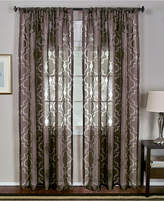 "Montego Elrene Sheer Burnout 52"" x 84"" Panel"