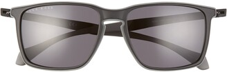 HUGO BOSS 57mm Rectangle Retro Sunglasses
