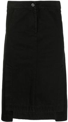 Henrik Vibskov Black A-Line Skirt