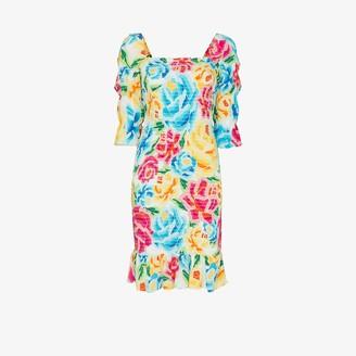 All Things Mochi Marianna floral print dress