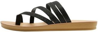 M&Co Swirling multi strap flat sandal