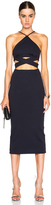 Nicholas Ponti Wrap Cross Back Dress