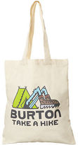 Burton New Men's Simple Tote Cotton Canvas White