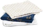 Aden Anais aden + anais Metallic Swaddling Blanket 70x70cm - Pack of 3