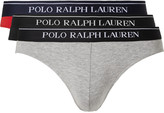 Polo Ralph Lauren - Three-pack Stretch-cotton Briefs
