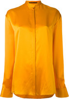 Haider Ackermann collarless shirt - women - Silk - 34
