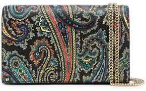 Diane von Furstenberg Two-tone Suede And Leather Shoulder Bag