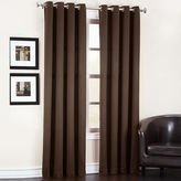 Sun Zero Garrett Grommet-Top Curtain Panel