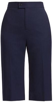 Altuzarra Magee Stretch-Wool Shorts