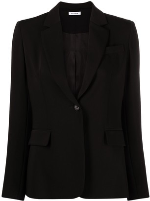 P.A.R.O.S.H. Notched-Lapel Single-Breasted Blazer