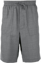 Ami Alexandre Mattiussi elasticated waist Bermuda shorts - men - Wool - 42
