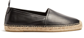 Saint Laurent Smooth-leather espadrilles