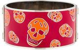 Alexander McQueen Wide Skull Bracelet