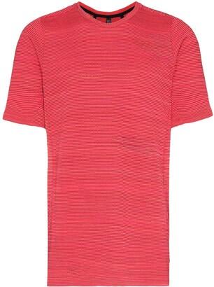 Byborre marled-effect knit T-shirt