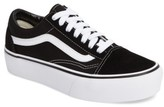 Vans Women's Old Skool Platform Sneaker