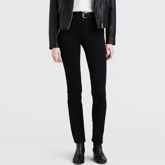 Levi's 724 High Rise Straight Cut Jeans