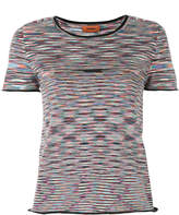 Missoni patterned crop T-shirt