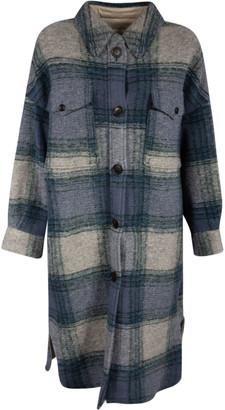 Isabel Marant Long Length Front Pocket Buttoned Coat