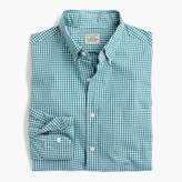 J.Crew Tall stretch Secret Wash shirt in gingham poplin