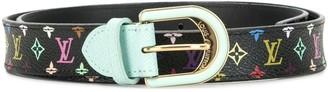 Louis Vuitton 2011 Monogrammed Belt