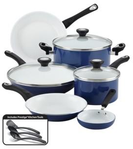 Farberware Purecook 12-Pc. Ceramic Non-Stick Cookware Set