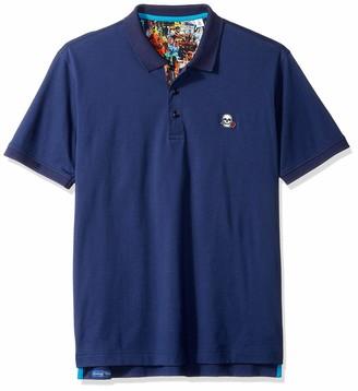 Robert Graham Men's Easton Short Sleeve Knit Polo