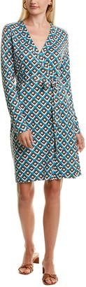 Diane von Furstenberg Julie Silk Wrap Dress