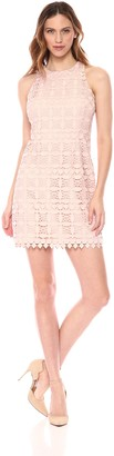 Brinker & Eliza Women's Racerback Lace Shift Dress