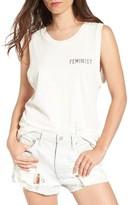 Junk Food Clothing Women's Feminist Muscle Tee